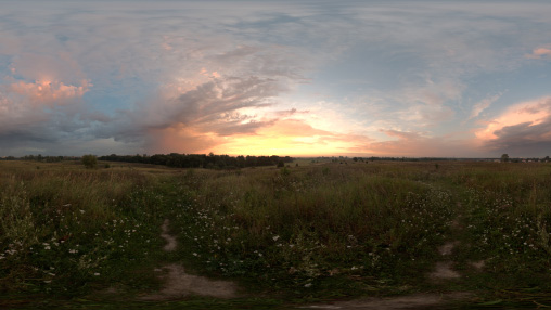HDRI sunset