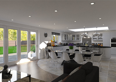 Studio kitchen model